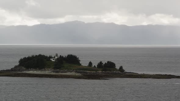 Thumbnail for View of small island with light house