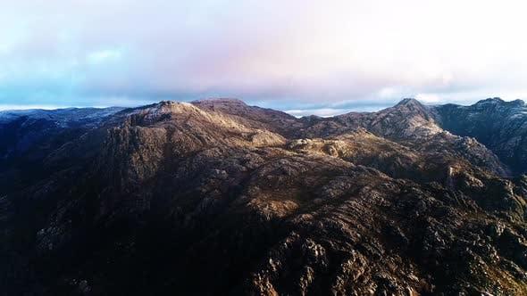 Thumbnail for Sunrise MorningLights on the Mountain Ridges