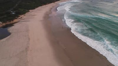 Catherine Hill Bay aerial view
