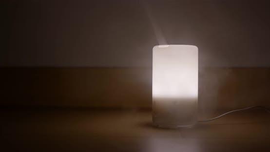 Thumbnail for Aroma oil diffuser light