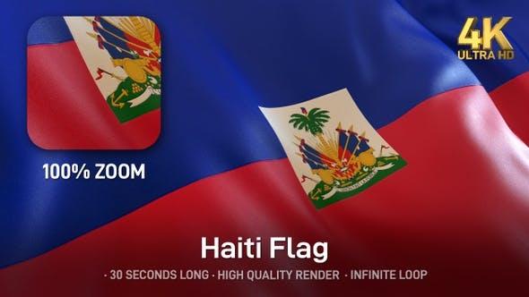 Thumbnail for Haiti Flag - 4K