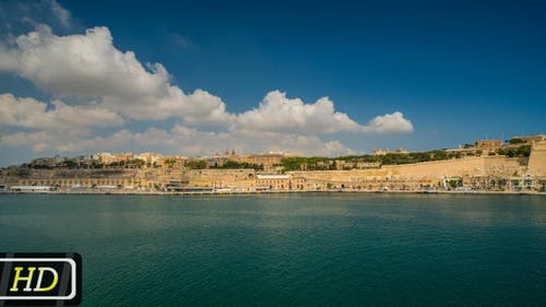 View of Valletta Across the Bay