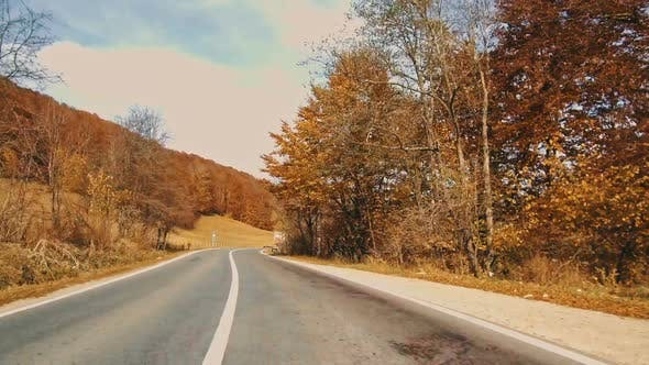Thumbnail for Road in Autumn Mountains