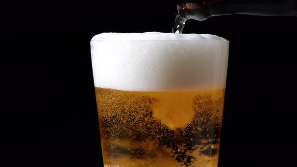 Thumbnail for Beer Pouring And Rotating