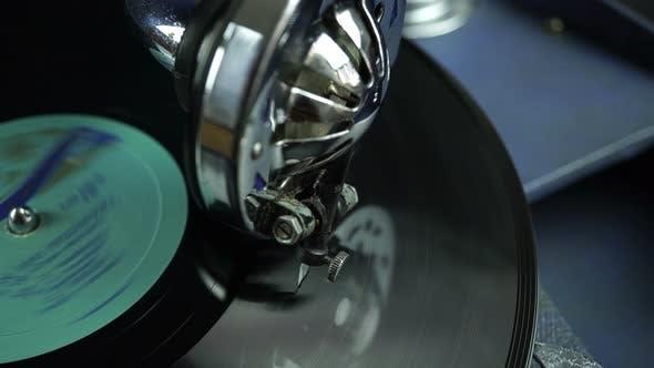 Thumbnail for Sound Recording Retro Gramophone