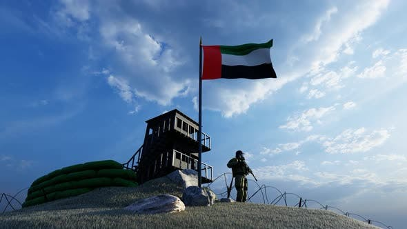 Thumbnail for Soldier Protecting the Watch from the UAE Country Border