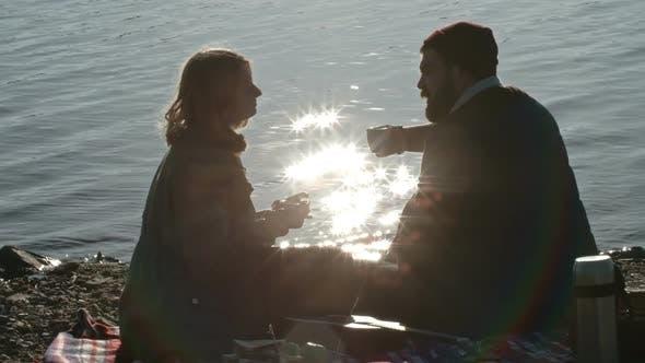 Thumbnail for Romantic Picnic near Lake