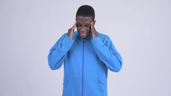 Thumbnail for Young Stressed African Man Having Headache