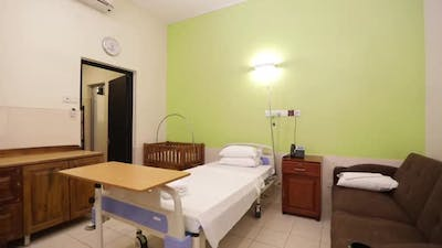 Modest Affordable Hospital Bed Room