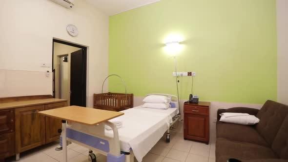 Modest Affordable Hospital Bed Room