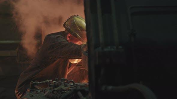 Ingenieure bei Forging Shop