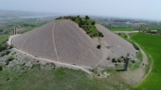 Thumbnail for Hill And Statue Aerial View 6