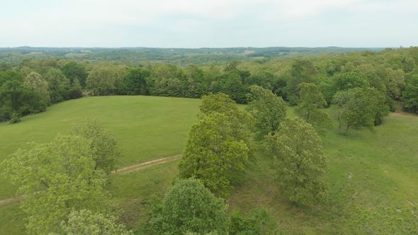 Thumbnail for Aerial Of Scenic Rural Country