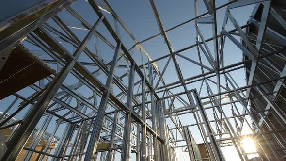 Skeleton Steel Construction Frame