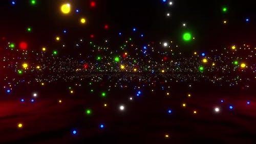 Christmas Light Land Scape  Hd
