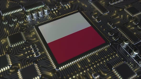 Thumbnail for National Flag of Poland on the Operating Chipset