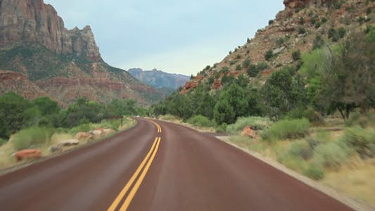 Thumbnail for Drive at Zion National Park part 03 Full HD