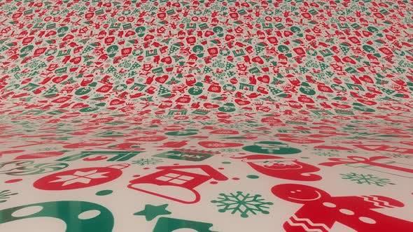Thumbnail for Christmass Pattern Wallpaper Loop Hd
