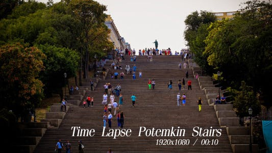 Cover Image for Time Lapse Potemkin Stairs