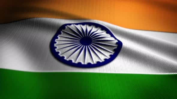 Thumbnail for India Flag Seamless Loop