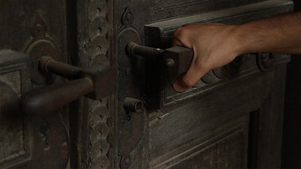 Thumbnail for Locked Rusty Door