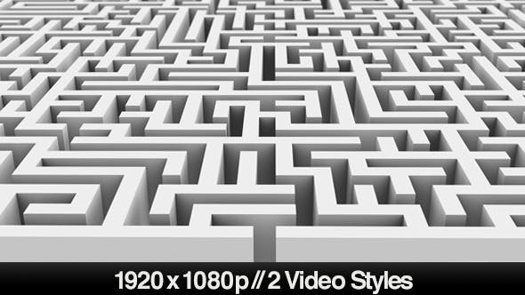 Thumbnail for Entrance to a Maze or Labyrinth Puzzle - 2 Styles