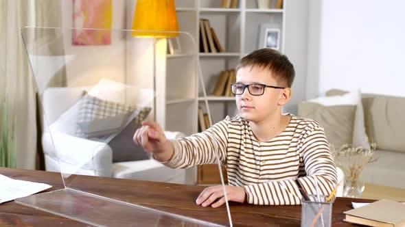 Thumbnail for Boy Using AR Computer Monitor