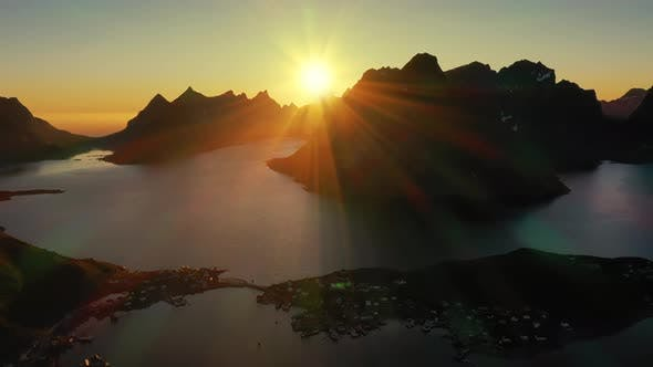 Thumbnail for Evening Sunset Lofoten Islands Norway