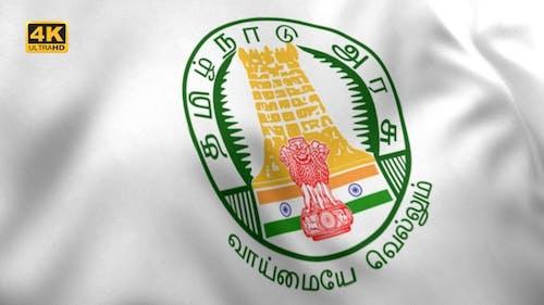 Tamil Nadu Flag (Indian Flag) - 4K
