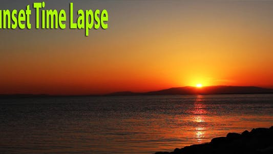 Thumbnail for Sunset Time Lapse