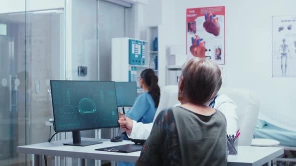 Presenting Futuristic Medical Brain Scan