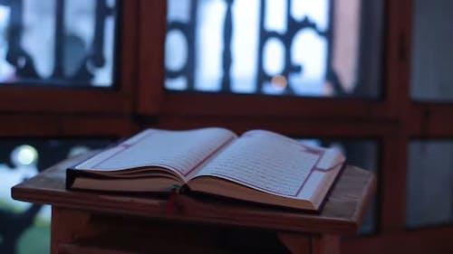 Quran Lectern Ottoman Mosque