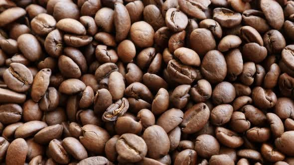 Thumbnail for High quality Arabica coffee beans arranged for tilting over 4K 2160p UltraHD footage - Lot of arabic