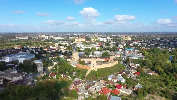 Thumbnail for Beautiful Lutsk Cityscape Near The Lubart Castle
