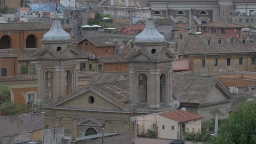 Two bell towers