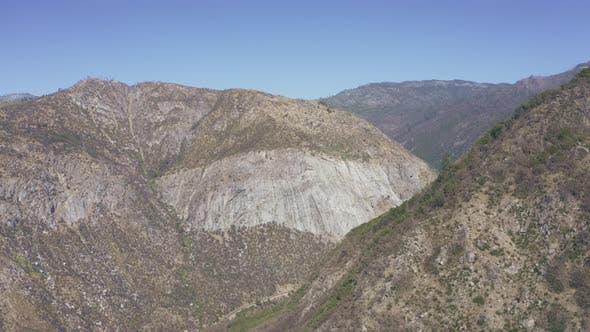 Mountain Range Aerial