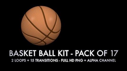 Thumbnail for Basket Ball Kit - 2 Loops + 15 Transitions