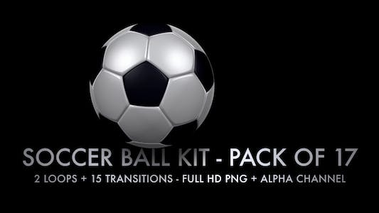 Thumbnail for Soccer Ball Kit - 2 Loops + 15 Transitions