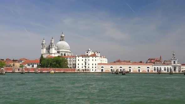 Thumbnail for Santa Maria della Salute Church in Venice Italy