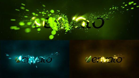 Thumbnail for Logo de la tempête de particules