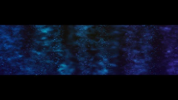 Thumbnail for Glowing Background Blue Ultra Wide