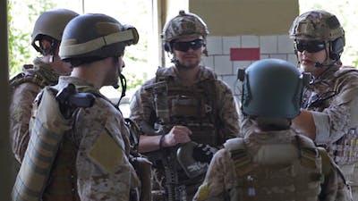 Military Gathering