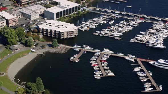 Thumbnail for Downtown Kirkland Washington Waterfront Marina