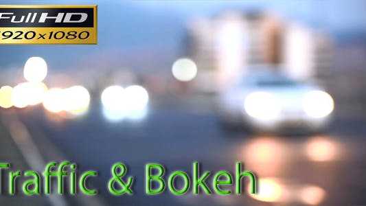 Thumbnail for Traffic Bokeh