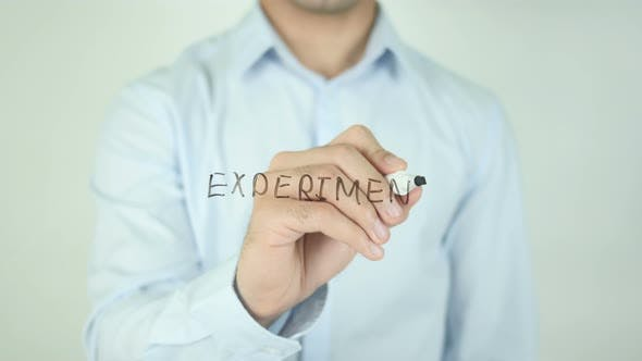 Cover Image for Experiment, Writing On Screen