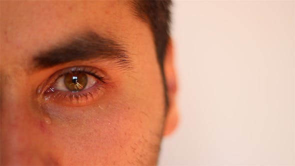 Thumbnail for Man Crying Close Up