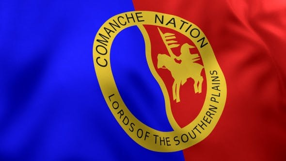 Thumbnail for Comanche Nation Flag