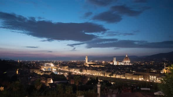 Thumbnail for Timelapse of the Florence panorama
