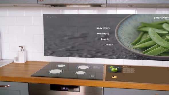 Thumbnail for Modern Home Küche Interieur