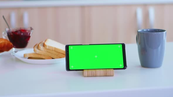 Smartphone with Blank Display